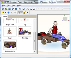 3DVia-Viewer-Package-Wooden-Kart