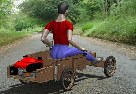 go kart design. Plans for a Wooden Go-Kart