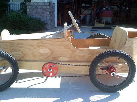 how to build a go kart out of wood 2